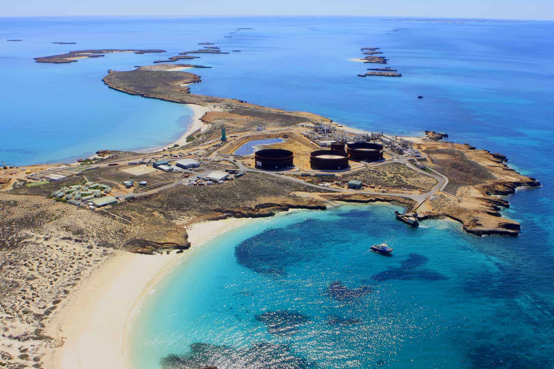 Santos' Varanus Island - now WA's biggest gas supplier