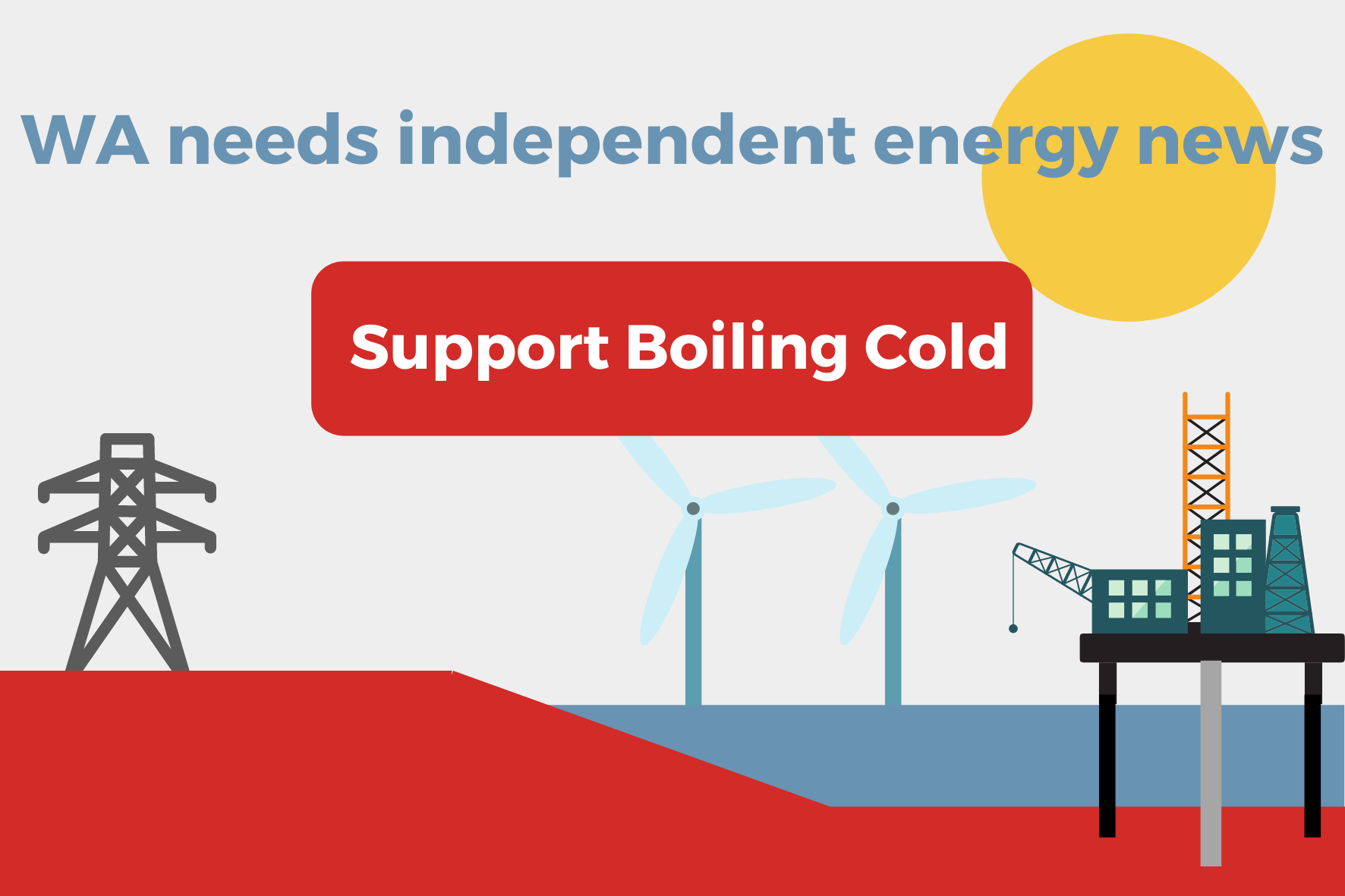 Need independent energy and climate news? Support Boilng Cold. It's a win win.